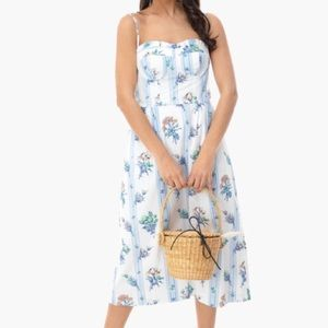 Tuckernuck Bouquet Jane floral dress NEW
